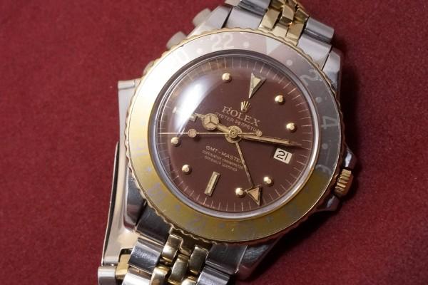 ロレックス GMTマスター Ref-1675/3 Brown Nipple Dial(RS-15/1970年)の詳細写真3枚目