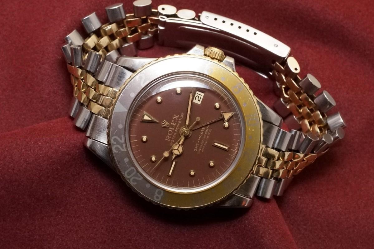 ロレックス GMTマスター Ref-1675/3 Brown Nipple Dial(RS-15/1970年)