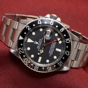 ロレックス GMTマスター Ref-16750 Matte Dial