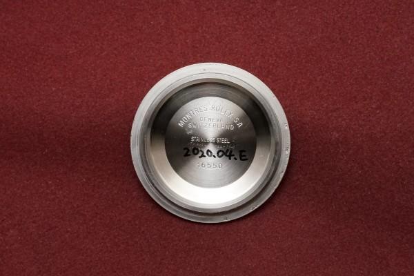 ロレックス EXPLORERⅡ Ref-16550 Spider Center Split Dial(RS-36/1986年)の詳細写真14枚目