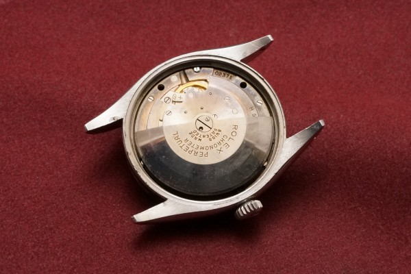 ロレックス EXPLORER Ref-6350 Honeycomb Dial(RS-52/1953年)の詳細写真10枚目
