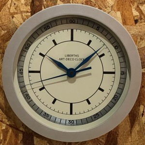 LIBERTAS ORIGINAL ART-DECO CLOCK LIMITED EDITION