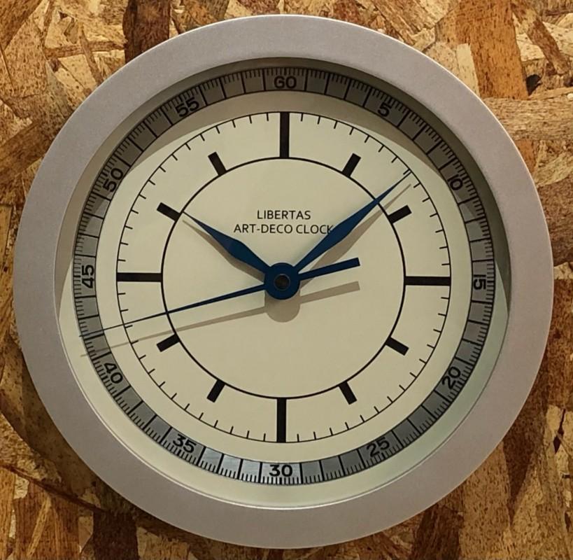 LIBERTAS ORIGINAL ART-DECO CLOCK LIMITED EDITION(/)
