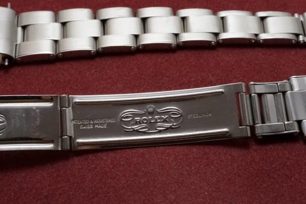 ロレックス BOY'S EXPLORER Ref-5500 Tropical Glossy Dial(RS-93/1963年)の詳細写真8枚目