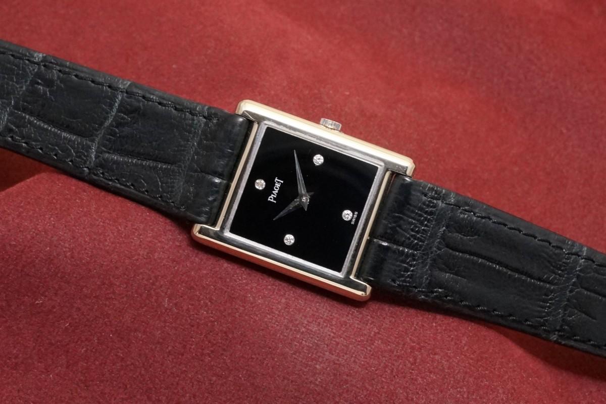PIAGET 18KWG 4point Diamond(PL-01/1960s)