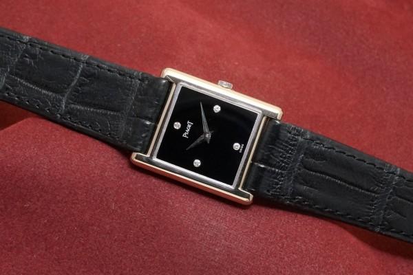 PIAGET 18KWG 4point Diamond(PL-01/1960s)の詳細写真1枚目