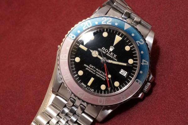 ロレックス GMTマスター Ref-1675 Gilt/Gloss Dial(RS-94/1966年)の詳細写真3枚目