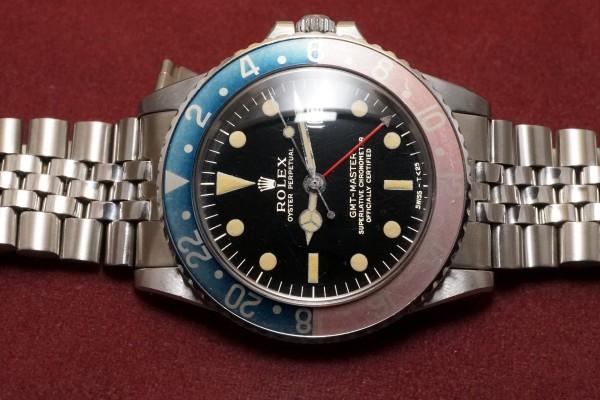ロレックス GMTマスター Ref-1675 Gilt/Gloss Dial(RS-94/1966年)の詳細写真4枚目