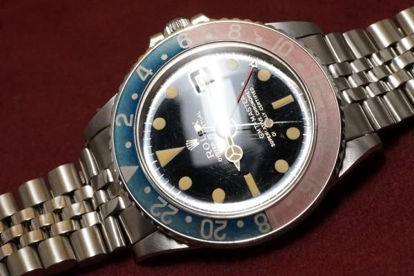 ロレックス GMTマスター Ref-1675 Gilt/Gloss Dial(RS-94/1966年)の詳細写真6枚目