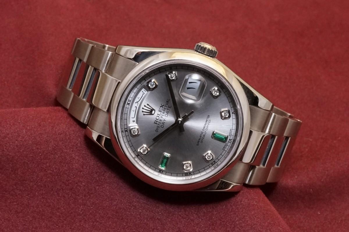 ロレックス デイデイト Ref-118209(RO-10/2000年)