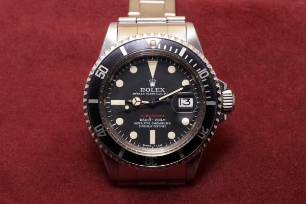 ロレックス 赤サブマリーナ Ref-1680 Mark-5(RS-26/1971年)の詳細写真2枚目