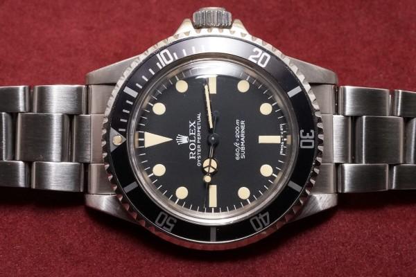 ロレックス サブマリーナ Ref-5513 Pre-COMEX Full-Set(RS-40/1977年)の詳細写真4枚目