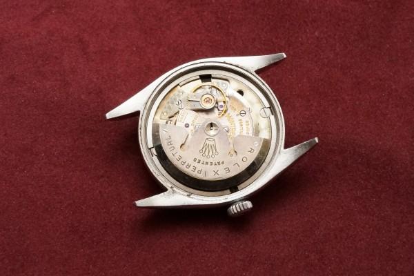 ロレックス EXPLORER Ref-6610 Gilt/Gloss Dial(RS-41/1957年)の詳細写真10枚目