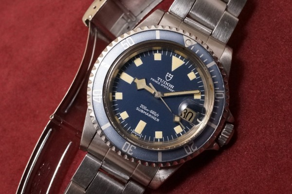 チュードル サブマリーナ Ref-94110 Blue Snowflake(RS-43/1980年)の詳細写真3枚目