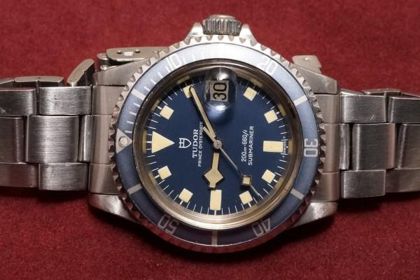 チュードル サブマリーナ Ref-94110 Blue Snowflake(RS-43/1980年)の詳細写真4枚目