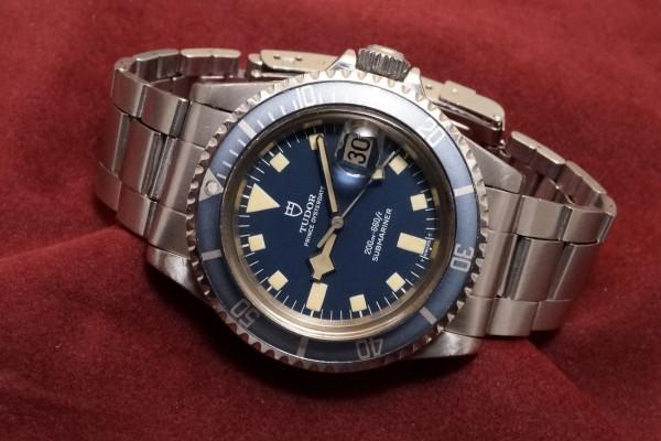 チュードル サブマリーナ Ref-94110 Blue Snowflake(RS-43/1980年)の詳細写真1枚目