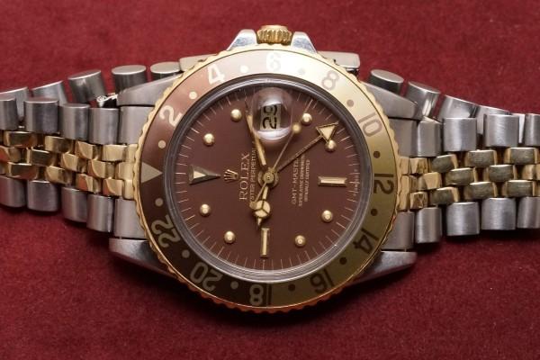 ロレックス GMTマスター Ref-1675/3 Brown Nipple Dial(RS-44/1975年)の詳細写真4枚目