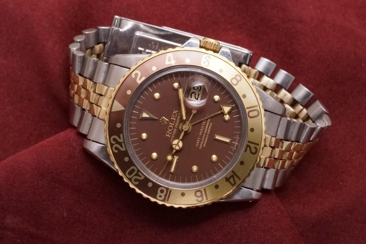 ロレックス GMTマスター Ref-1675/3 Brown Nipple Dial(RS-44/1975年)